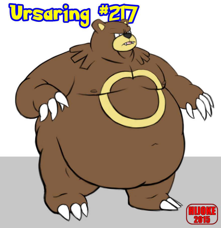 Pokemon ABACB - Ursaring #217 by HIJOKEtheDragon on DeviantArt  Pokemon ABACB -...
