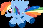 Rainbow Dash Balloon