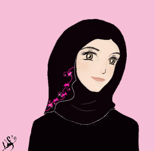 i love hijab   hijab anime