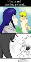 Hinata and the frog prince?...
