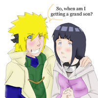 Yondaime supports NaruHina?... by Artict