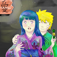 Naruhina- In the night by Artict