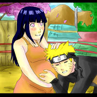 Naruhina- It moved- Mom's day by Artict