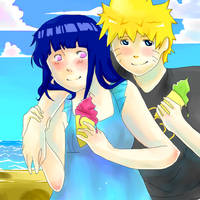 Naruhina- Summer days by Artict