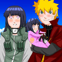 Naruhina- Family picture by Artict