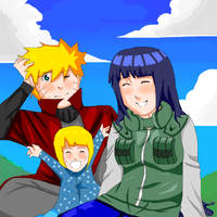 Naruhina- All together by Artict