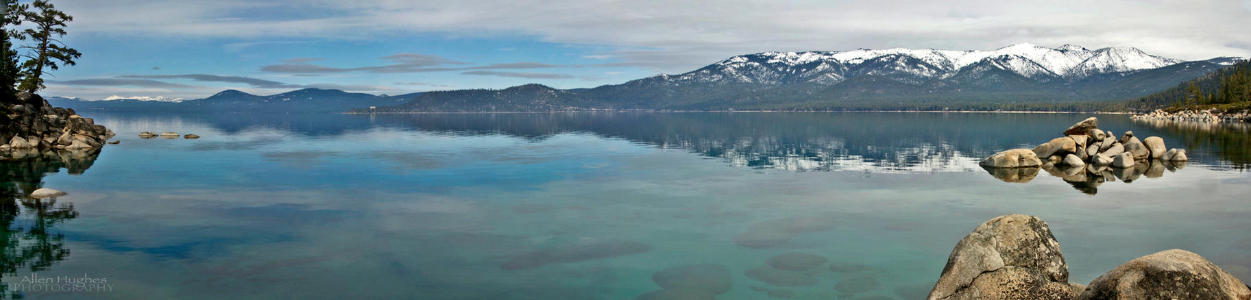 Calm Tahoe Morning by Allen59
