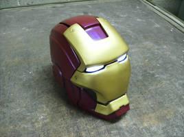 Ironman helmet by DarkAsylumxxx