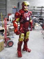 Iron man MK 3 done by DarkAsylumxxx