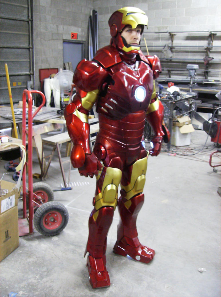 Iron man MK 3 done by DarkAsylumxxx