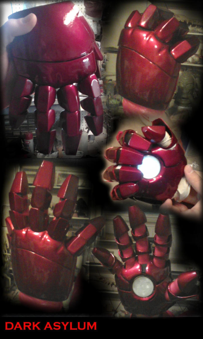Ironman Hands by DarkAsylumxxx