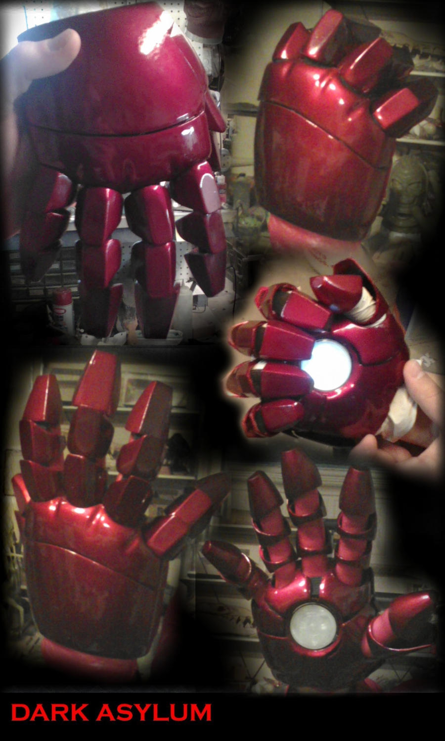Ironman Hands by DarkAsylumxxx