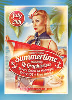 Summertime Flyer by 8D3K