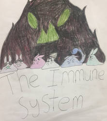 The immune system (cover page) by GingerChickens