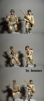 82nd AirBorne one and two