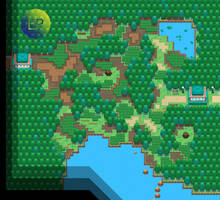 Seisui Forest Map by Evilrake