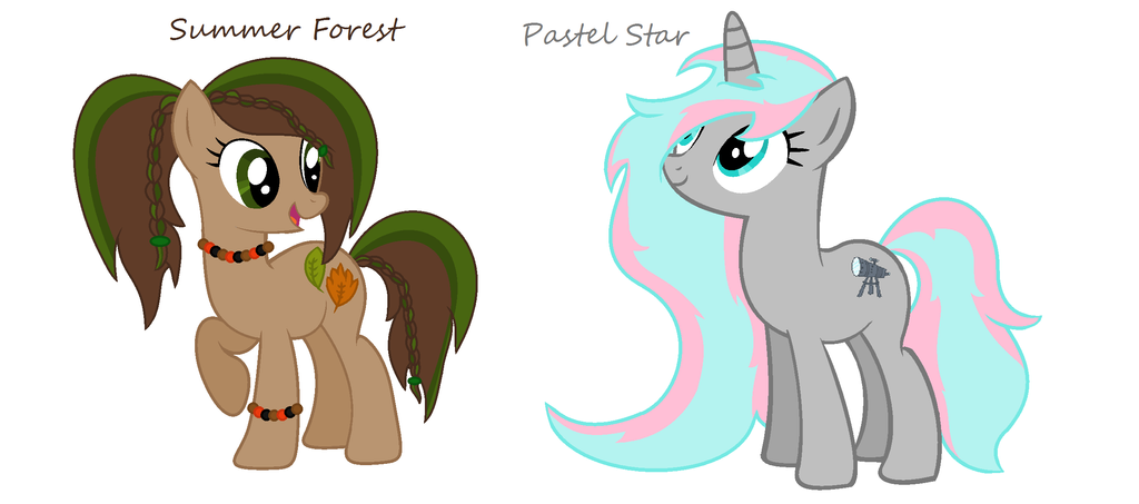 Wings Of Summer Original >> mlp custom ponies from MLPfanforever12 my drawing by ...