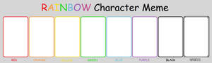 Color Character Meme