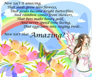 Now Isn't It Amazing? by Anjali25
