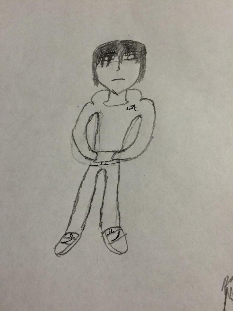 Self-Portrait by Blake32