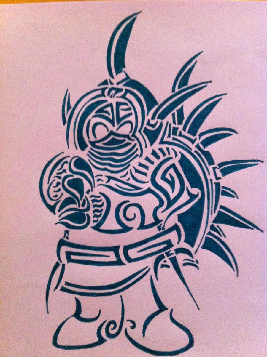 Tribal Rammus by AwyrSente
