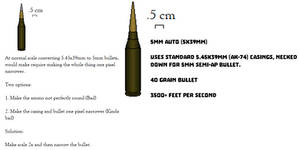 Fallout Inspired 5mm Round