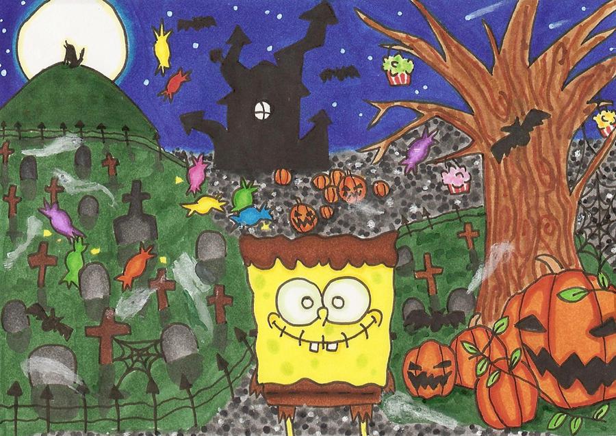 Spongebob halloween by RandomFie on DeviantArt
