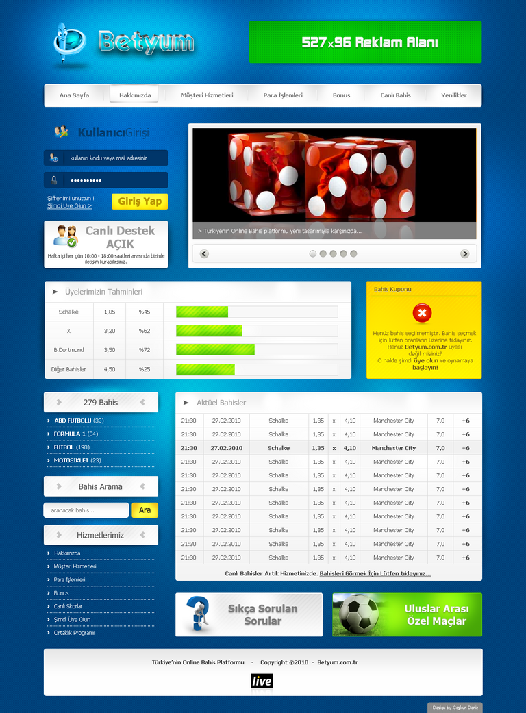 betting web sites