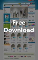 Free E-Commerce Web .PSD