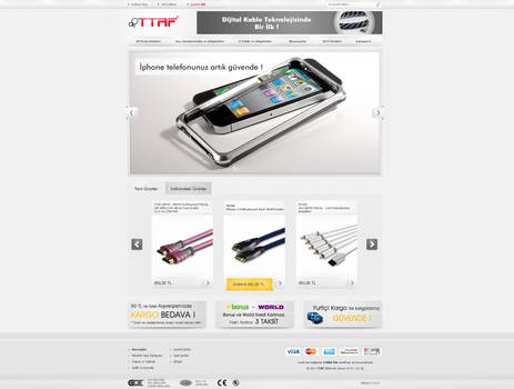 TTAF Electronics - E-Commerce