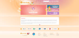 BalonBaski.Com - Interface Design