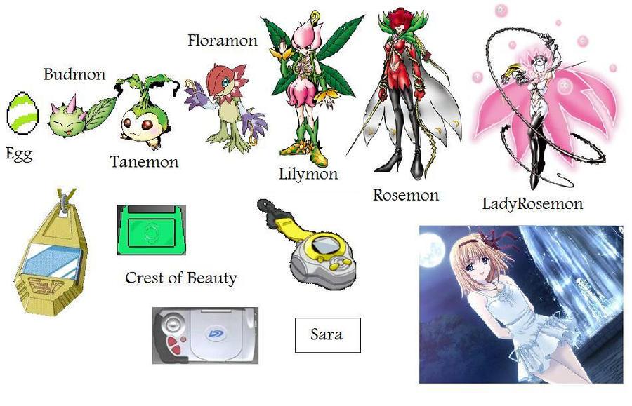 gatomon evolution chart - photo #38