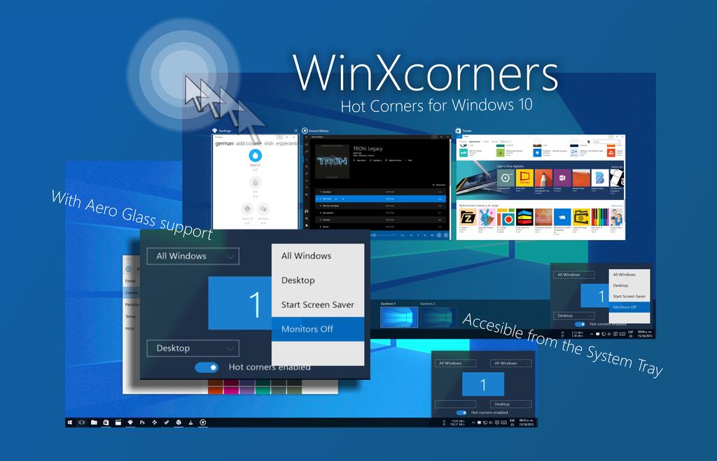 WinXcorners published by vhanla