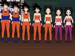 Goku To Caulifla TG