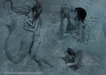 mermaid AU by ElyonBlackStar