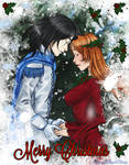 The Holly Maiden and the Northern Wind - Close-up
