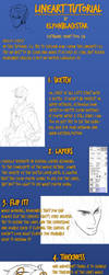 Tutorial Lineart by ElyonBlackStar
