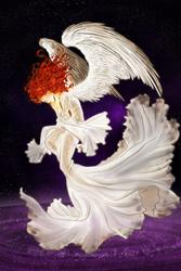 COMMISSION - Shining angel by ElyonBlackStar