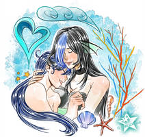 Valentine special - Sachiko and Fuuko by ElyonBlackStar