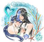 Valentine special - Sachiko and Fuuko