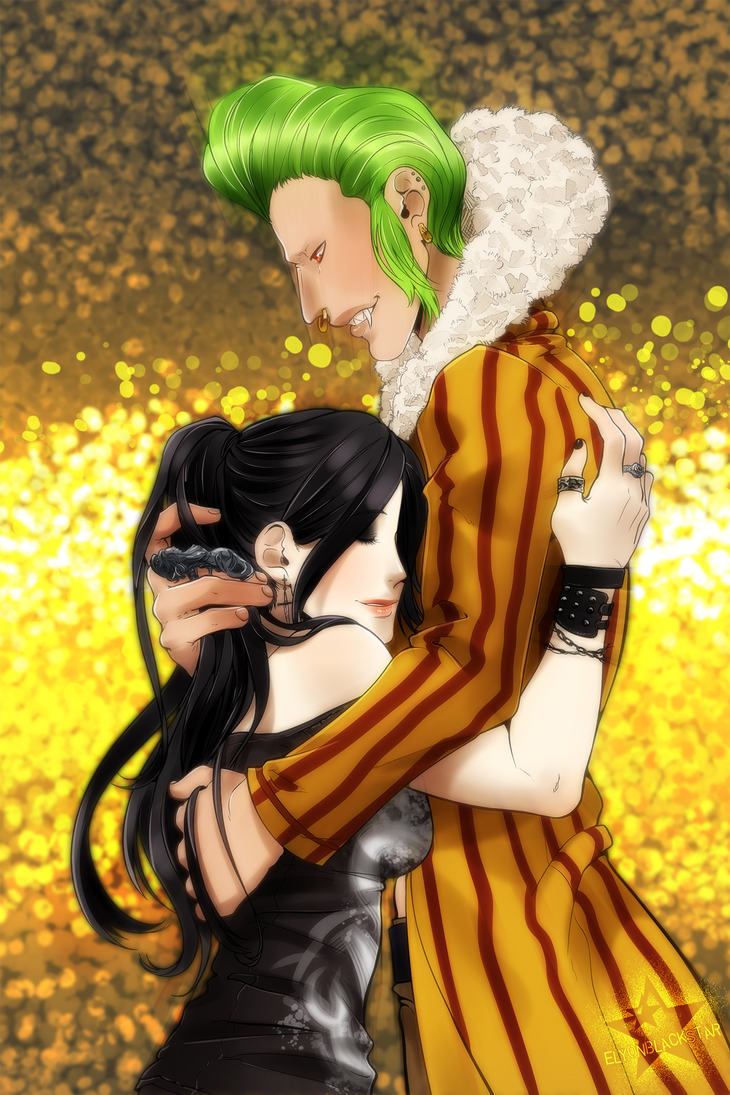 Barto and Serene by ElyonBlackStar