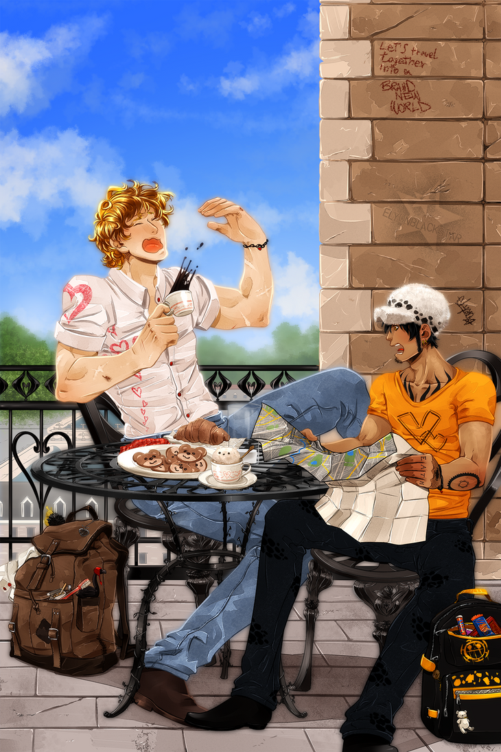 Trafalgar Law Week 6. Corazon by ElyonBlackStar