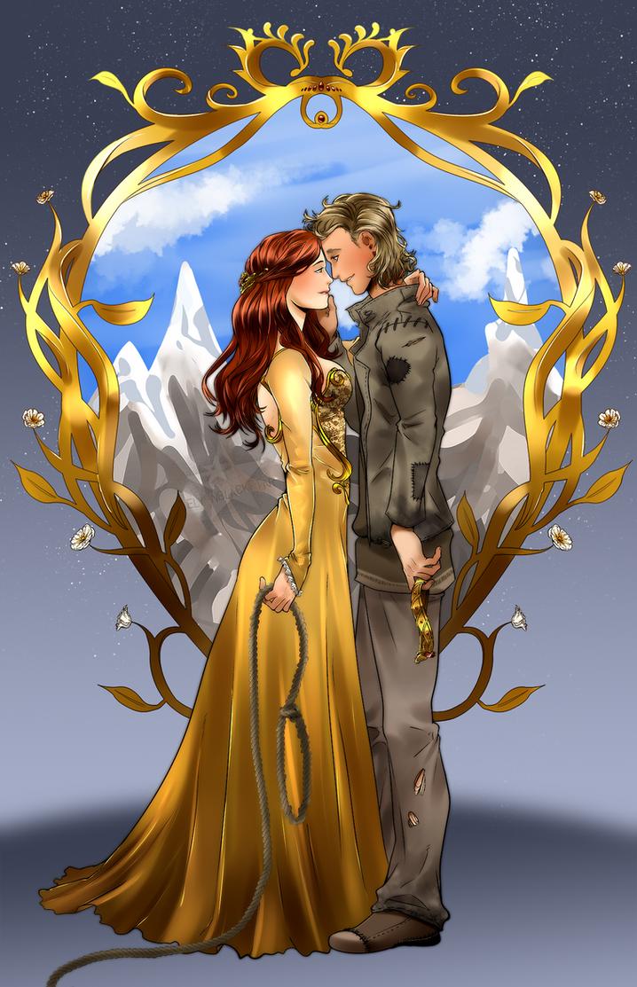 COMMISSION - Ellorae and Tarun by ElyonBlackStar
