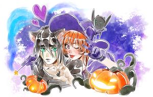 Halloween Ulquihime by ElyonBlackStar