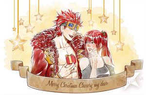 CHRISTMAS COMM - Kid and Chasery by ElyonBlackStar