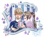 CHRISTMAS COMM - Akari and Jun