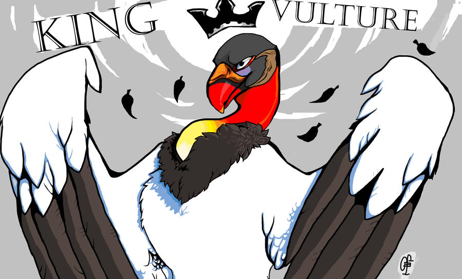 Vulture Logo King Vulture by Inkfang