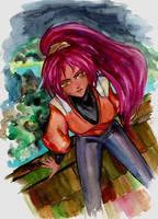 Yoruichi by pink-pink