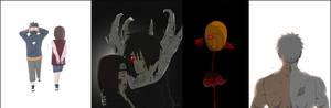 Obito Character Evolution