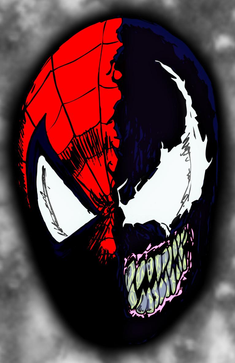 Cmo dibujar la cara del hombre araa ehow en espaol spiderman face spiderman baditri Images